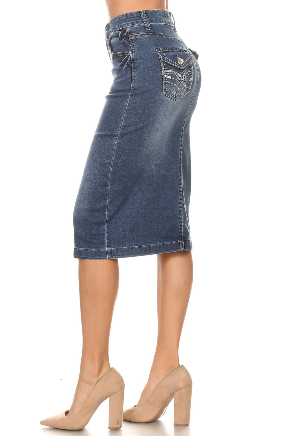 Joy Denim Skirt