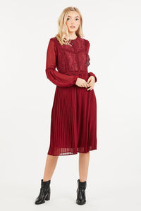 Doreen Pleated Dress