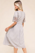 Melissa Dress in Gray