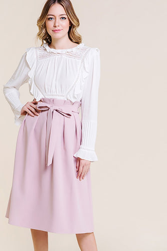 Becca Skirt in blush