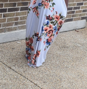 Maggie Floral maxi dress