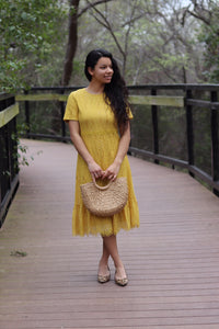 Miss Sunshine Lace Dress