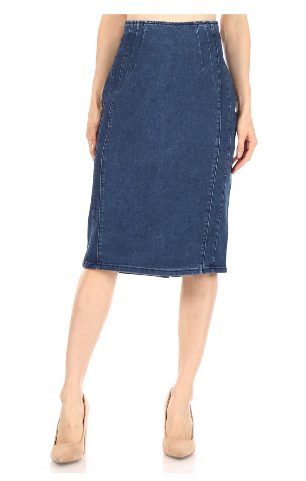 Pam Denim Skirt