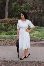 Melissa dress in White