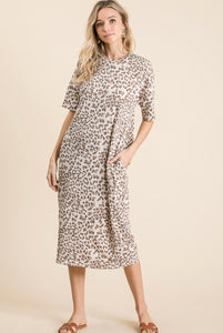 Ava Leopard Dress(PREORDER)
