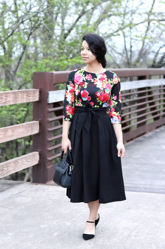 Darling Dress in Black