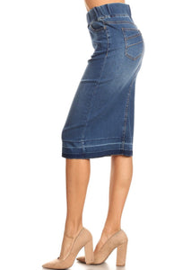 Celia Denim Skirt