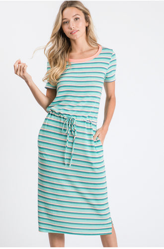 Emily Striped Dress
