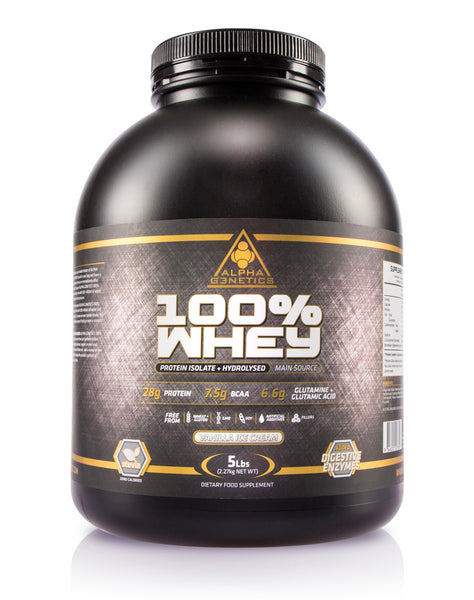 5lb 100% WHEY (Protein Isolate + Hydrolyse)