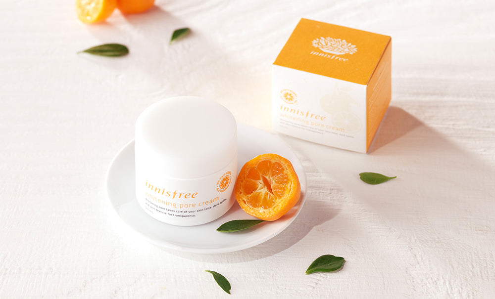 innisfree jeju tangerine cream