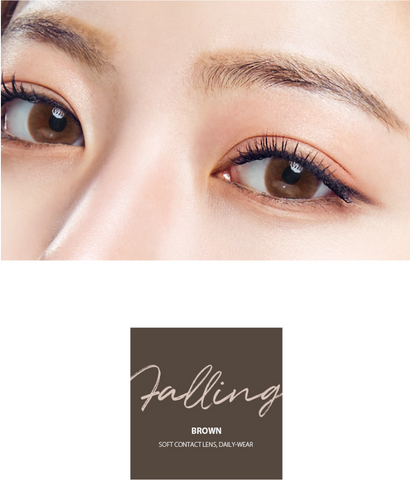 OLENS Falling Brown lens cosmehut cosmetic australia kbeauty korean beauty