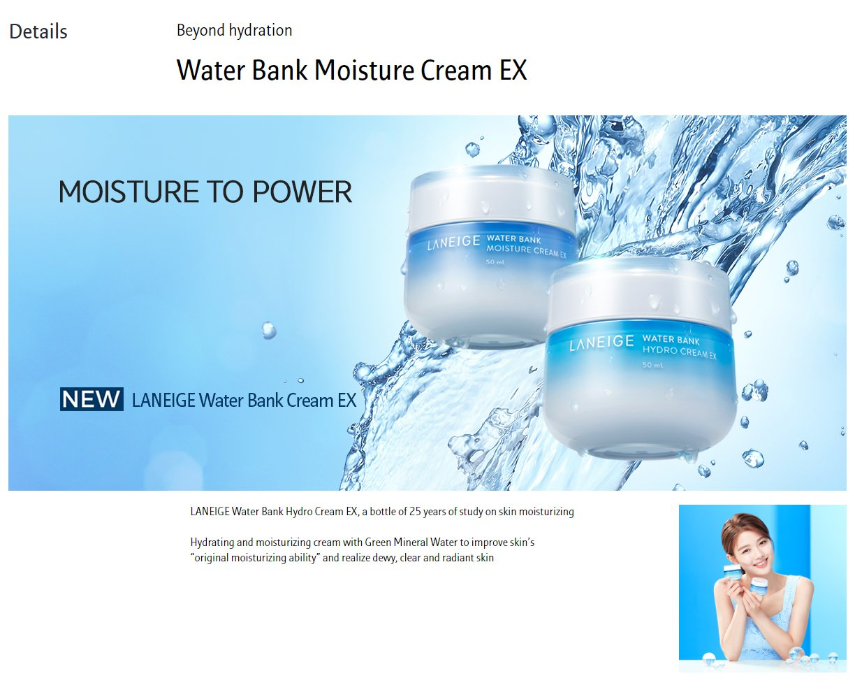 LANEIGE Water Bank Moisture Cream EX Cosme Hut Australia