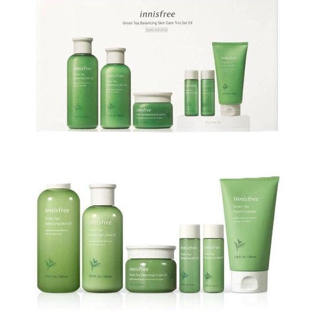 INNISFREE Green Tea Balancing Skin Care Trio EX Cosme Hut korean beauty Australia