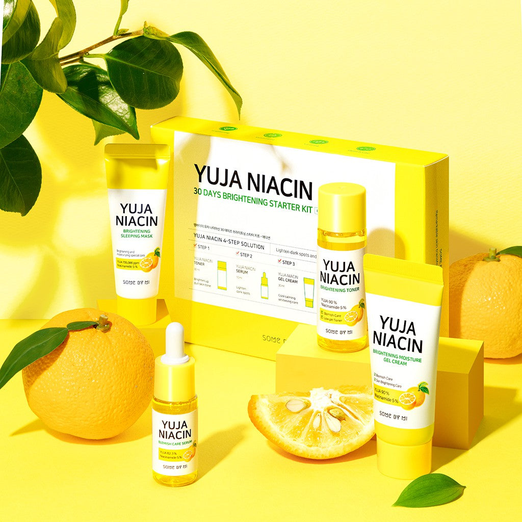 SOME BY MI Yuja Niacin 30 Days Brightening Starter Kit Cosme Hut kbeauty Korean Skincare Australia