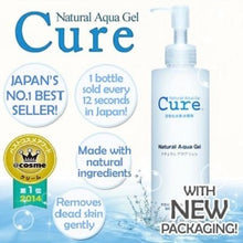 Load image into Gallery viewer, CURE Natural Aqua Gel Cosme Hut korean beauty Australia