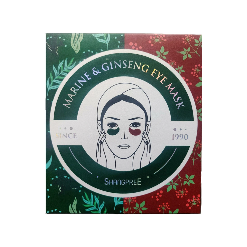 SHANGPREE Marine & Ginseng Eye Mask Ltd Ed 60pcs