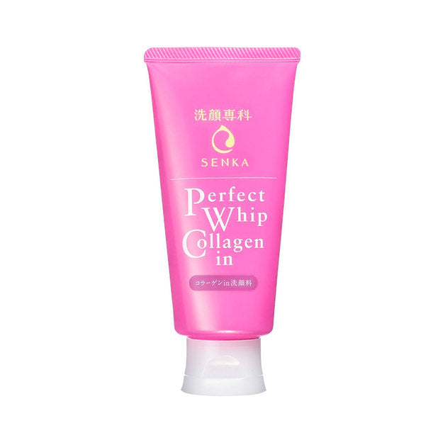 SHISEIDO Senka Perfect Whip Collagen Foam Cleanser Cosme Hut korean beauty Australia