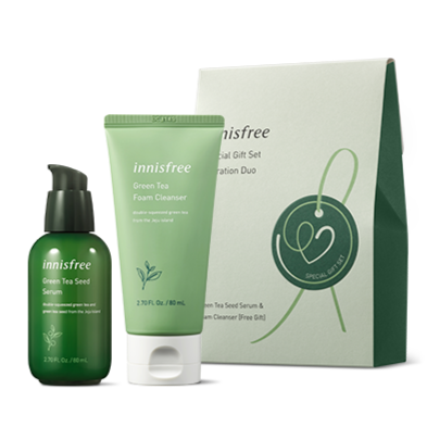 INNISFREE Special Gift Set Hydration Duo Cosme Hut kbeauty Korean Skincare Australia