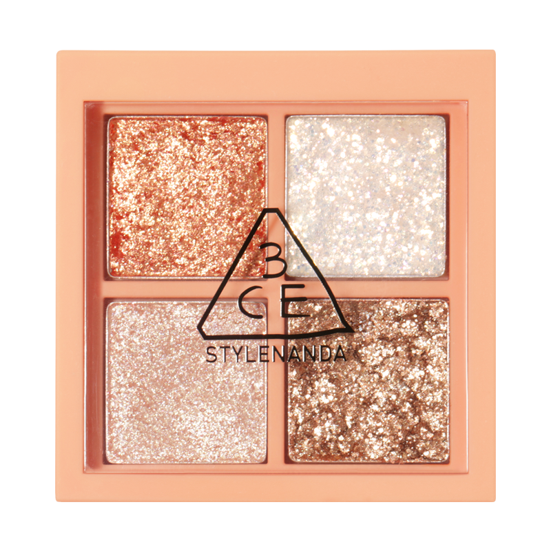3CE Mini Multi Eye Color Palette #Glitter Bomb Cosme Hut kbeauty Korean Skincare Australia