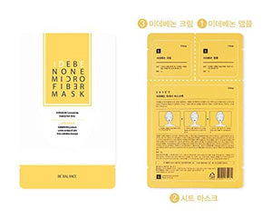 BE BALANCE IDENENONE Micro Fiber Mask (10pcs/box) Cosme Hut korean beauty Australia