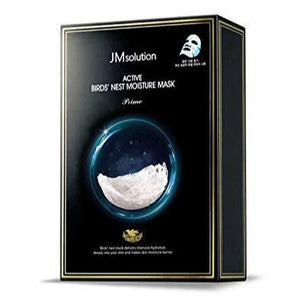JM SOLUTION Active Bird's Nest Moisture Mask Prime (Box/10 Sheets)