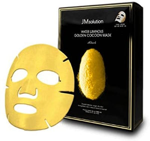 JM Solution Water Luminous Golden Cocoon Mask (Box/10 Sheets)