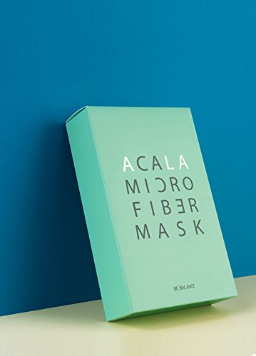 BE BALANCE Acala Micro Fiber Mask (10pcs/box) Cosme Hut korean beauty Australia