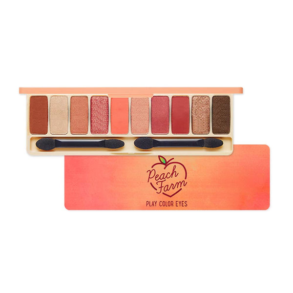 Etude House Play Color Eye Palette #Peach Farm Cosme Hut Australia
