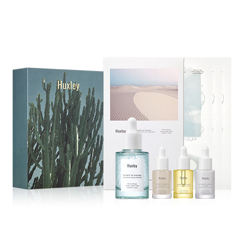 HUXLEY Hydration Essence & Mask Limited Cosme Hut kbeauty Korean Skincare Australia