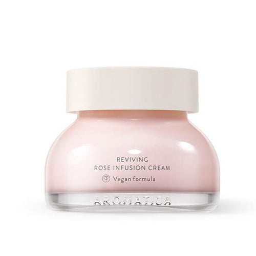 AROMATICA Reviving Rose Infusion Cream Cosme Hut kbeauty Korean Skincare Australia