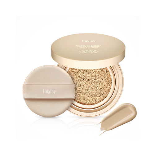 HUXLEY Secret of Sahara Cover Cushion Own Attitude #1 White Dessert Cosme Hut korean beauty Australia