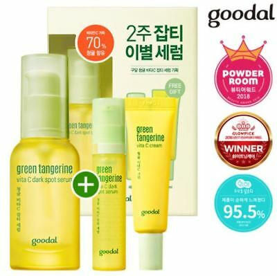 GOODAL Green Tangerine Vita C Dark Spot Serum Set Cosme Hut korean beauty Australia