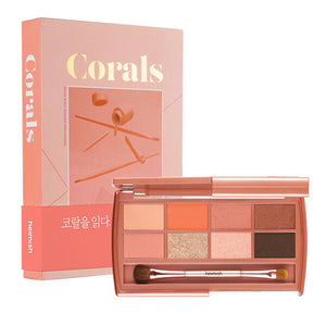HEIMISH Dailism Eye Palette Coral Essay Cosme Hut korean beauty Australia