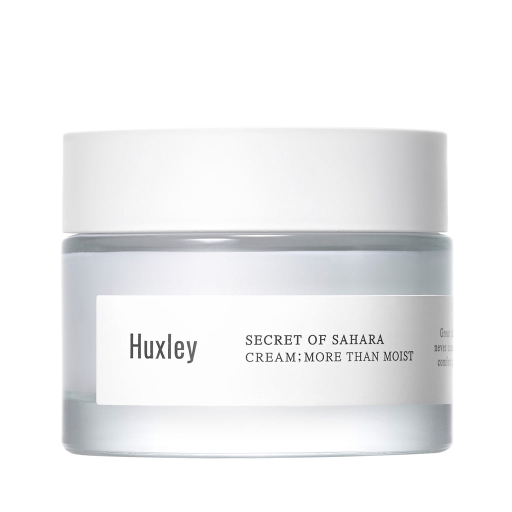 HUXLEY Secret of Sahara; More Than Moist Cream Cosme Hut korean beauty Australia