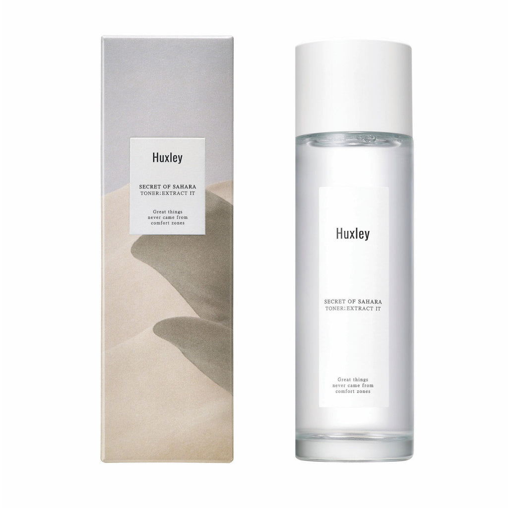 HUXLEY Secret of Sahara Toner: Extract It Cosme Hut korean beauty Australia