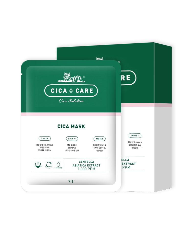 VT COSMETICS Cica Care Cica Mask Cosme Hut korean beauty Australia