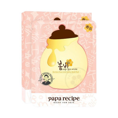 PAPA RECIPE Bombee Rose Gold Honey Mask Cosme Hut korean beauty Australia