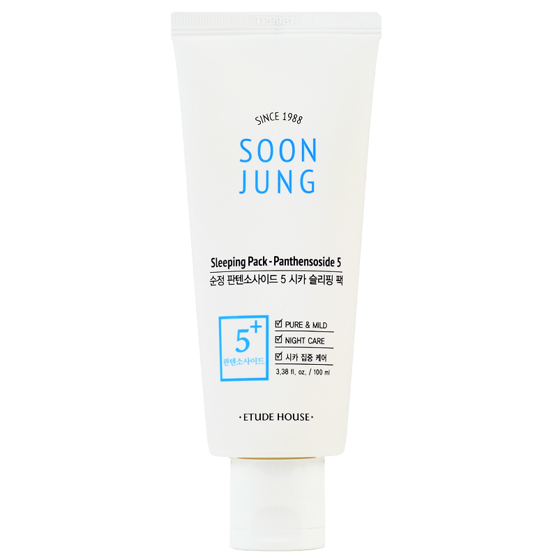 ETUDE HOUSE Soon Jung Panthensoside 5 Cica Sleeping Pack Cosme Hut korean beauty Australia