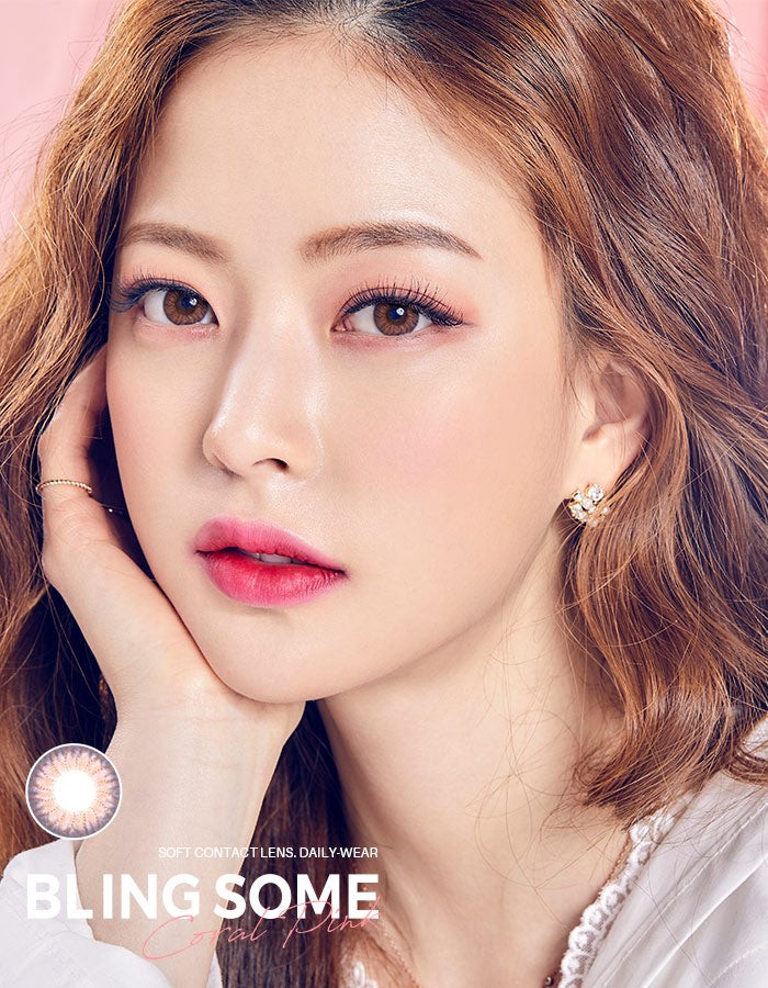 OLENS 1 MONTH Blingsome Coral Pink Cosme Hut korean beauty Australia