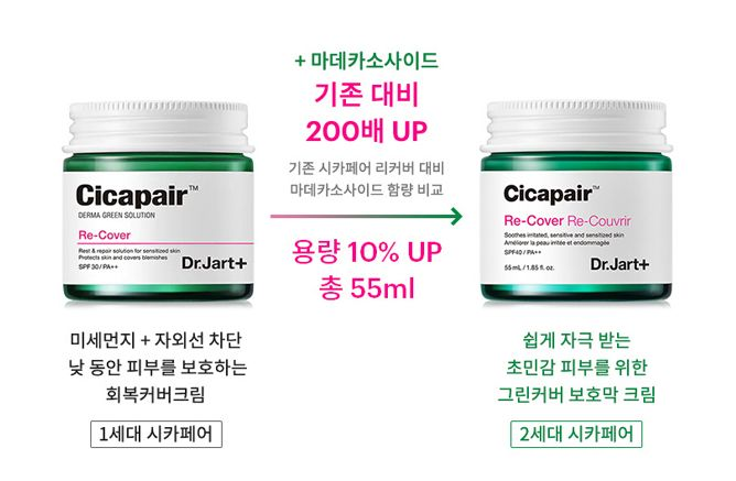 DR JART+ Cicapair Re-cover; Re-Couvrir Cream Cosme Hut korean beauty Australia