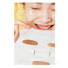 Load image into Gallery viewer, COSRX Full Fit Propolis Nourishing Magnet Sheet Mask (per Sheet)
