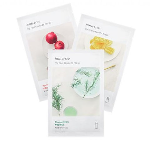 INNISFREE My Real Squeeze Mask (per piece) - Cosme Hut