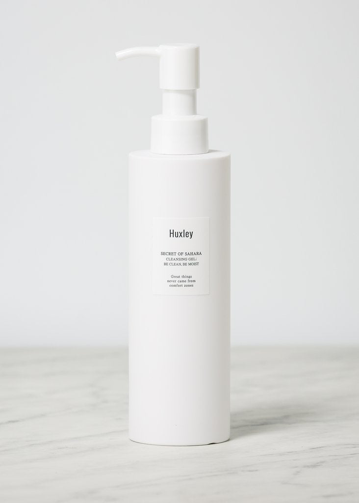 HUXLEY Be Clean, Be Moist Cleansing Gel Cosme Hut korean beauty Australia