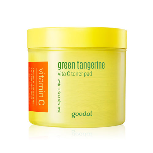 GOODAL Green Tangerine Vita C Toner Pad Cosme Hut korean beauty Australia