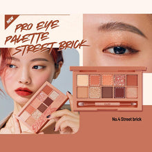 Load image into Gallery viewer, CLIO Pro Eye Palette #04 Street Brick Cosme Hut kbeauty Korean Skincare Australia