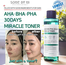 Load image into Gallery viewer, SOME BY MI AHA BHA PHA 30 Days Miracle Toner Cosme Hut korean beauty Australia