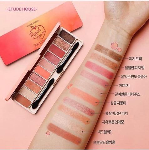 Etude House Play Color Eye Palette #Peach Farm