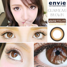 Load image into Gallery viewer, ENVIE 1day CHAMEAU BROWN (10 lenses) Cosme Hut korean beauty Australia