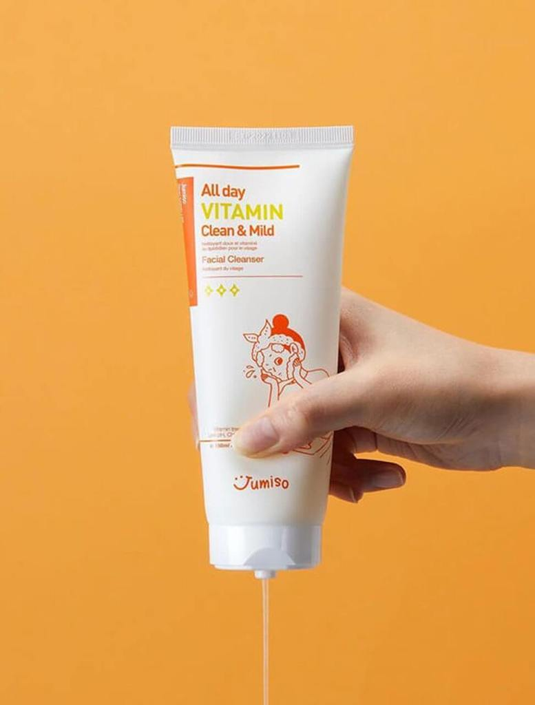 JUMISO All Day Vitamin Clean & Mild Facial Cleanser Cosme Hut kbeauty Korean Skincare Australia