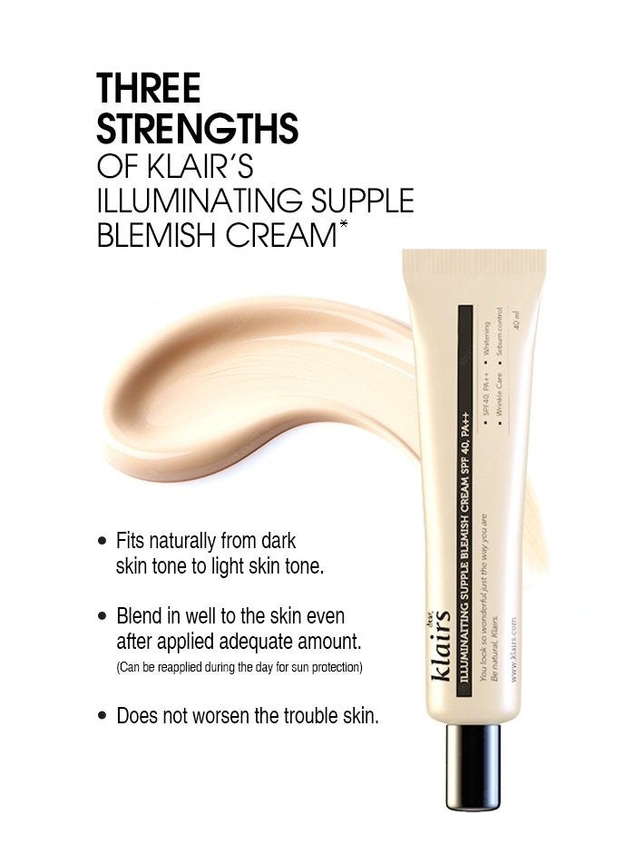 KLAIRS Illuminating Supple Blemish Cream Cosme Hut korean beauty Australia